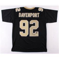 Marcus Davenport Signed Jersey (Radtke Hologram)