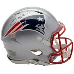 Julian Edelman Signed New England Patriots Full-Size Authentic On-Field Speed Helmet (Fanatics Holog