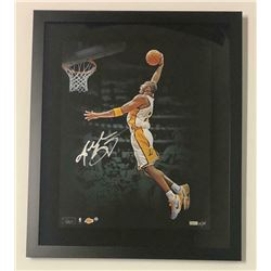 Kobe Bryant Signed Los Angeles Lakers 20x24 Custom Framed Limited Edition Photo (Panini COA)
