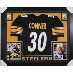 James Conner Signed 35x43 Custom Framed Jersey (Beckett COA)