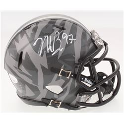 Nick Bosa Signed Ohio State Buckeyes Speed Mini Helmet (JSA COA)