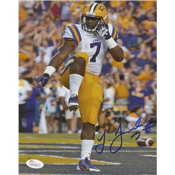 Leonard Fournette Signed LSU Tigers 8x10 Photo (JSA COA)