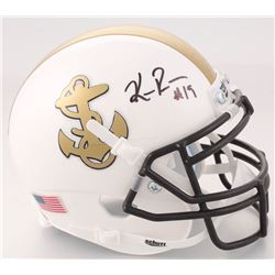 Keenan Reynolds Signed Navy Midshipmen Mini Helmet (JSA COA)