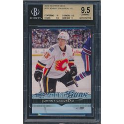 2014-15 Upper Deck #211 Johnny Gaudreau YG RC (BGS 9.5)