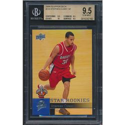 2009-10 Upper Deck #234 Stephen Curry SP RC (BGS 9.5)