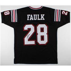 Marshall Faulk Signed Jersey (JSA COA)