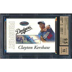 2007 Bowman's Best Prospects #BBP45 Clayton Kershaw AU (BGS 9.5)