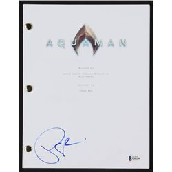 "Patrick Wilson Signed ""Aquaman"" Full Movie Script (Beckett COA)"