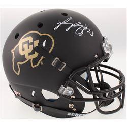 Phillip Lindsay Signed Colorado Buffaloes Full-Size Helmet (Radtke COA)