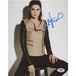 Cobie Smulders Signed 8x10 Photo (PSA COA)
