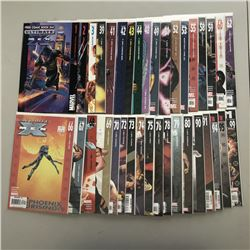 "Lot of (36) 2001-2009 ""Ultimate X-Men"" 1st Series Marvel Comic Books from #1-99"