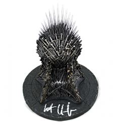"Kit Harington Signed ""Game of Thrones"" 7"" Iron Throne (Radtke COA)"