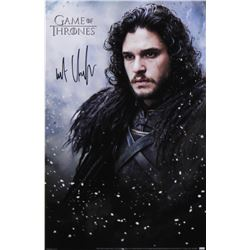 "Kit Harington Signed ""Game of Thrones"" 11x17 Photo (Radtke COA)"