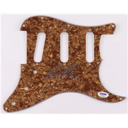 Mac Miller Signed Electric Guitar Pickguard (PSA LOA)