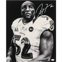 Ray Lewis Signed Baltimore Ravens 16x20 Photo (JSA COA)
