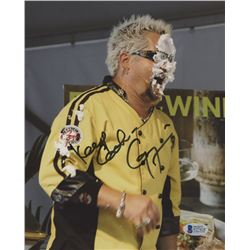 "Guy Fieri Signed 8x10 Photo Inscribed ""Keep Cookin"" (Beckett COA)"