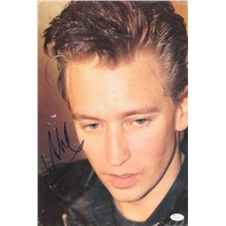 Andy Fletcher Signed 11x16.5 Photo (JSA COA)