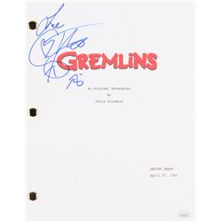 "Corey Feldman Signed ""Gremlins"" Full Movie Script Inscribed ""Love"" (PSA COA)"