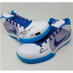 "Kobe Bryant Signed Nike Kobe 4 Protro Limited Edition Basketball Shoes Inscribed ""20 Seasons"" (Panin"