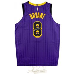 Kobe Bryant Signed Los Angeles Lakers 2019 City Edition Jersey (Panini COA)