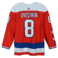Alexander Ovechkin Signed Washington Capitals Captain Jersey (Fanatics Hologram)