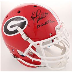 "Herschel Walker Signed Georgia Bulldogs Full-Size Authentic On-Field Helmet Inscribed  ""80 Natl Cham"