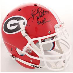 "Herschel Walker Signed Georgia Bulldogs Full-Size Authentic On-Field Helmet Inscribed ""82 Heisman"" ("