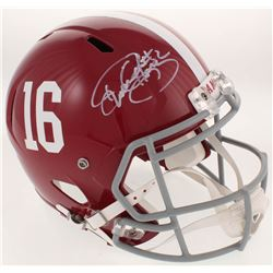 Derrick Henry Signed Alabama Crimson Tide Full-Size Speed Helmet (Radtke COA  Henry Hologram)