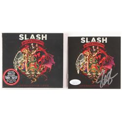 "Slash Signed ""Apocalyptic Love"" CD Album Sleeve (JSA COA)"