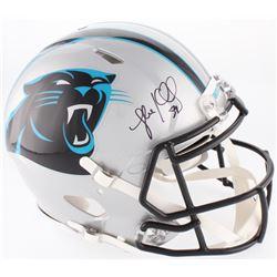 Luke Kuechly Signed Carolina Panthers Full-Size On-Field Speed Helmet (JSA COA)