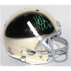 Harrison Smith Signed Notre Dame Fighting Irish Custom Chrome Full-Size Helmet (Radtke COA)