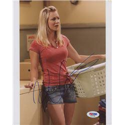 "Kaley Cuoco Signed ""The Big Bang Theory"" 8x10 Photo (PSA COA)"