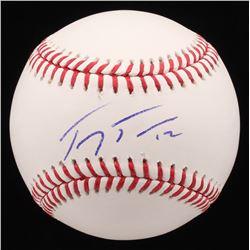 Troy Tulowitzki Signed OML Baseball (PSA COA)