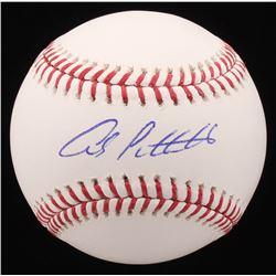 Andy Pettitte Signed OML Baseball (PSA COA)