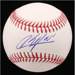 Aroldis Chapman Signed OML Baseball (PSA COA)