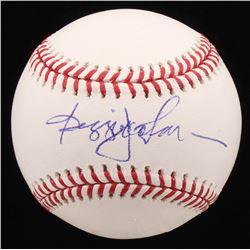 Reggie Jackson Signed OML Baseball (PSA COA)