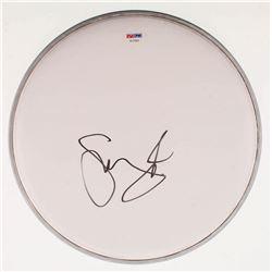 """Skrillex Signed 10"""" Drumhead (PSA COA)"""