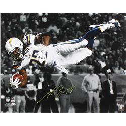 Melvin Gordon Signed Los Angeles Chargers 16x20 Photo (Radtke COA)