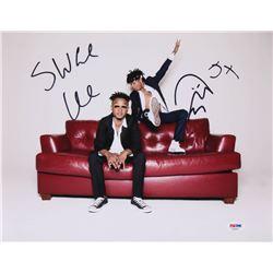 "Slim Jxmmi  Swae Lee Signed ""Rae Sremmurd"" 11x14 Photo Inscribed ""5x"" (PSA COA)"