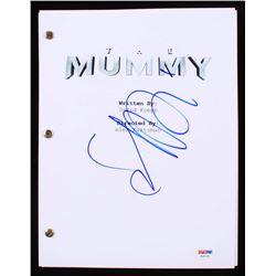 """Sofia Boutella Signed """"The Mummy"""" Movie Script (PSA COA)"""