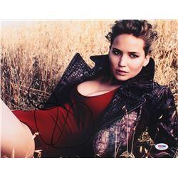 Jennifer Lawrence Signed 11x14 Photo (PSA Hologram)