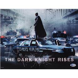 "Christian Bale Signed ""The Dark Knight"" 11x14 Photo (Beckett COA)"
