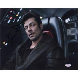 Benicio del Toro Signed 11x14 Photo (PSA COA)
