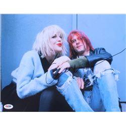 Courtney Love Signed 11x14 Photo (PSA COA)