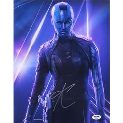 "Karen Gillan Signed ""Guardians of the Galaxy"" 11x14 Photo (PSA COA)"