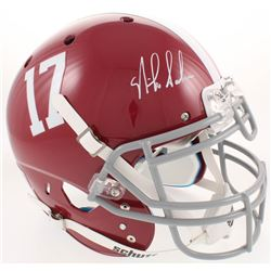 Nick Saban Signed Alabama Crimson Tide Full-Size Authentic On-Field Helmet (Radtke COA)