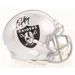 Bo Jackson Signed Oakland Raiders Speed Mini-Helmet (Radtke COA  Jackson Hologram)