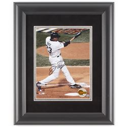 Jermaine Dye Signed Chicago White Sox 2005 World Series 14x17 Custom Framed Photo Display (Fanatics