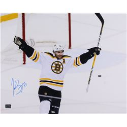 Patrice Bergeron Signed Boston Bruins 16x20 Photo (Bergeron COA)