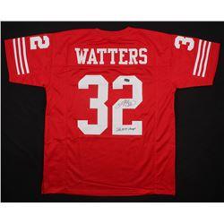 "Ricky Watters Signed Jersey Inscribed ""SB XXIX Champs"" (Radtke COA)"